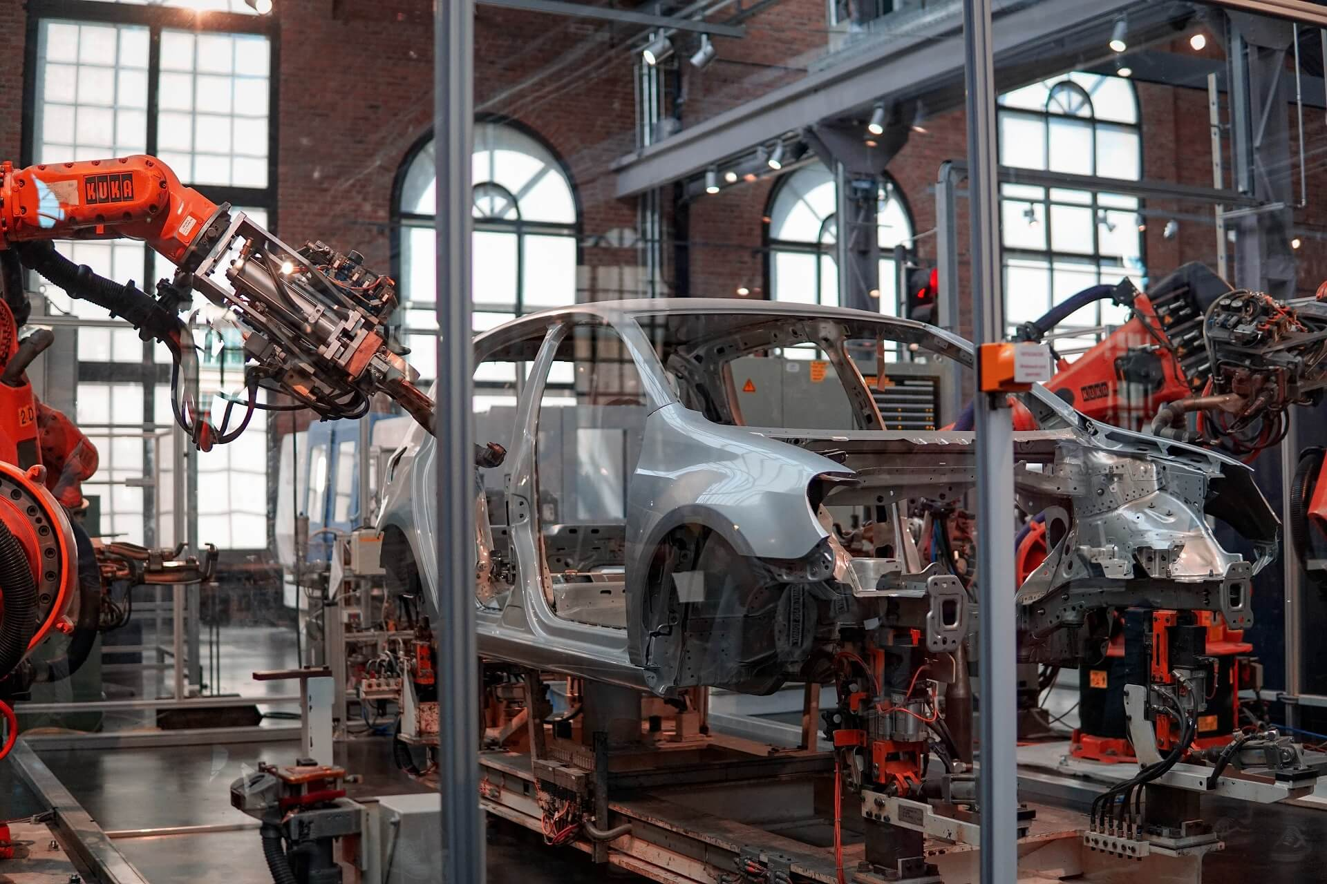 Car assembly line or production line