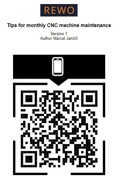 QR code example for work instructions
