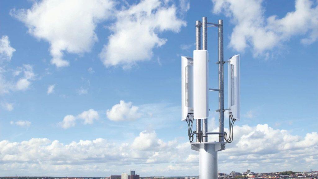 A set of 5G antennas